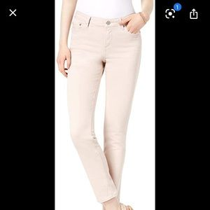 Lucky Brand Light Pink Skinny Jeans 10